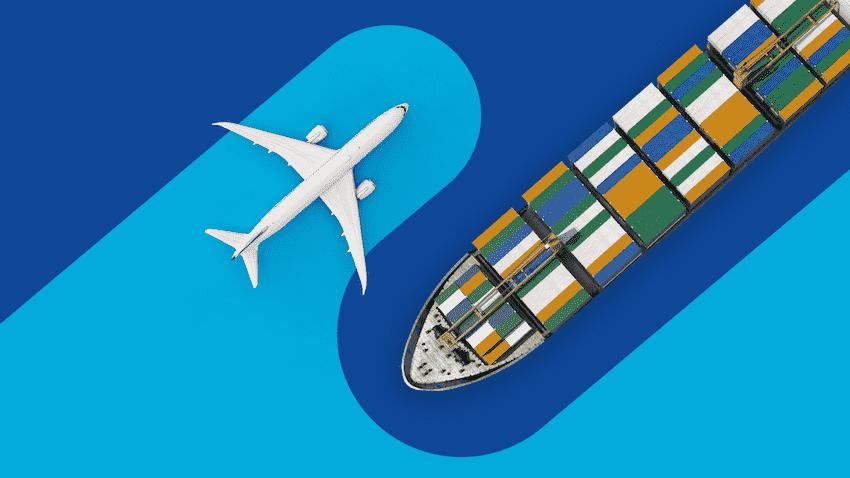 fret maritime vs fret aérien
