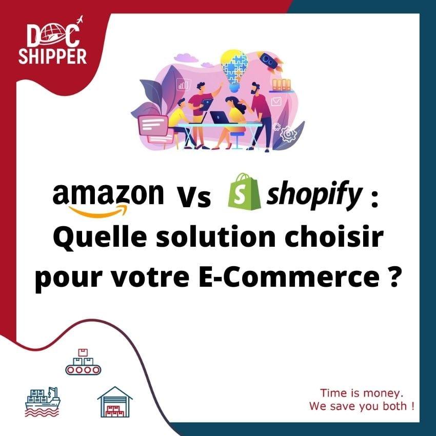 Amazon VS Shopify, quelle solution choisir pour votre e-commerce