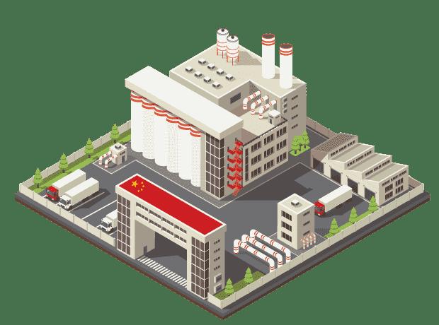 fabricant usine chine