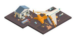 chargement-colis-conteneurs-avion
