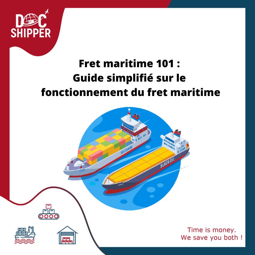 Fret maritime guide simplifie sur le fonctionnement du fret maritime