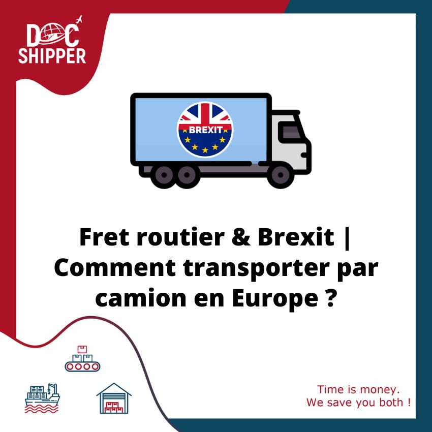 brexit fret routier UE